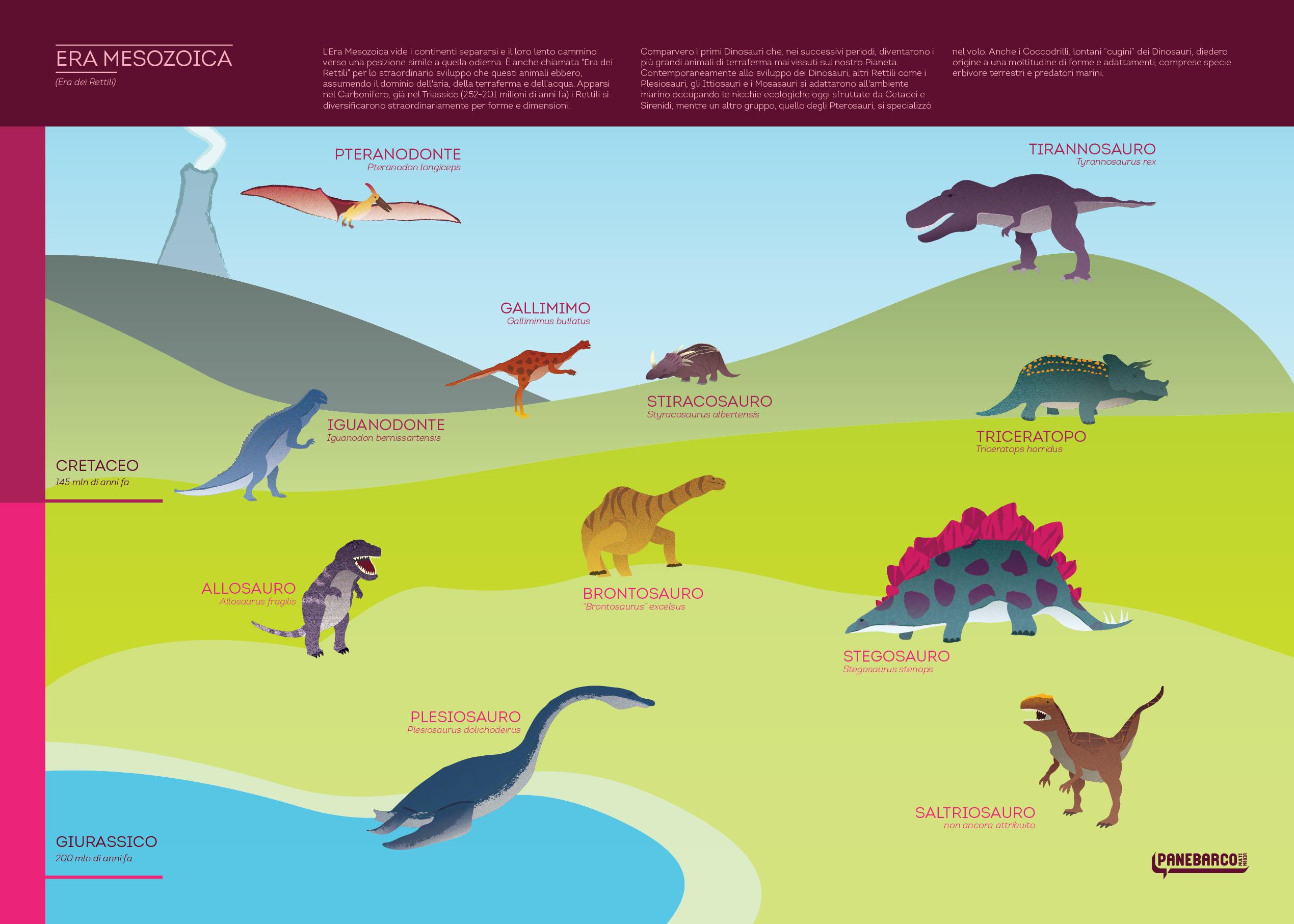 Ricliamo i dinosauri panebarco c