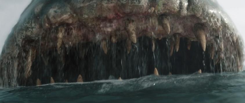 """Le fauci spalancate della balena come sono rese dagli effetti visivi nel film """"Pinocchio"""" di Matteo Garrone"""