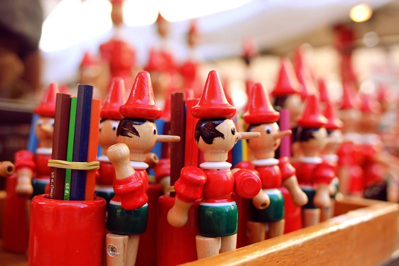 burattini di Pinocchio in vendita