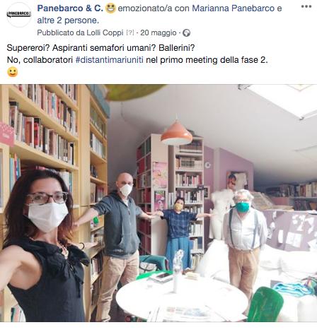 foto della prima riunione della fase 2 dell'epidemia da covi d19