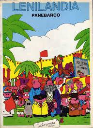 """La copertina del fumetto """"Lenilandia"""" di Daniele Panebarco"""